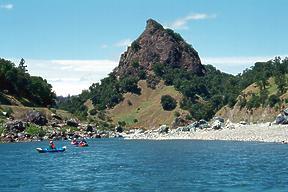 Eel River Camping Eel River below Dos Rios CA