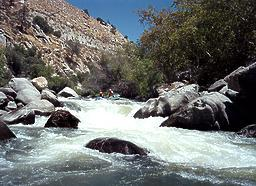 Kern River below Isabella