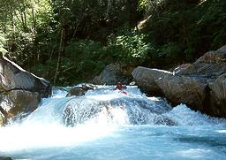 Lavezzola Creek near Downieville CA