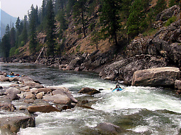 Selway River from Paradise to Race Creek ID