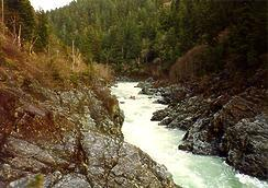 Smith River Oregon Hole Gorge CA