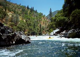 Tuolumne River near Groveland CA